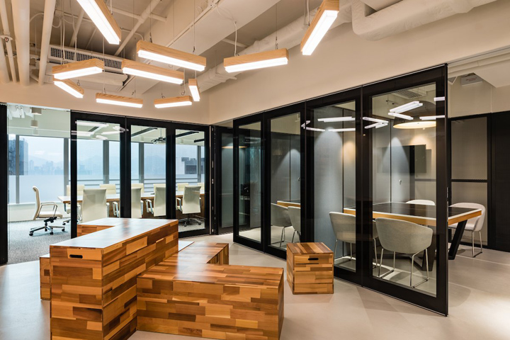 Publicis media group offices by spatial concept limited for Interior design office hong kong