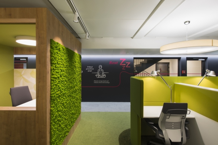Pwc switzerland office by evolution design basel for Office design wellbeing