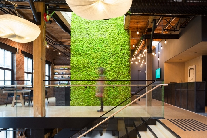 Slack office by leckie studio vancouver canada retail for Office design vancouver