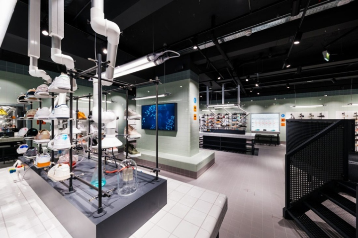 Solebox store amsterdam netherlands retail design blog Interior design shops amsterdam