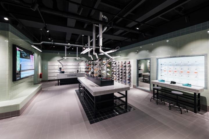 阿姆斯特丹Solebox 运动鞋店设计