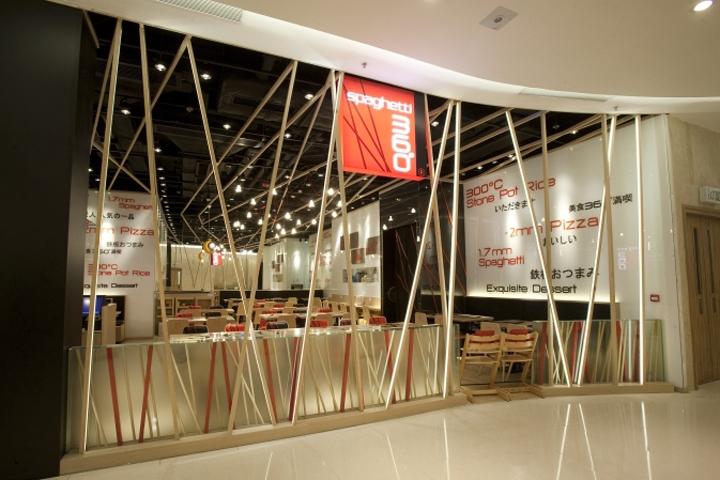 Spaghetti 360 Restaurant By Clifton Leung Design Workshop