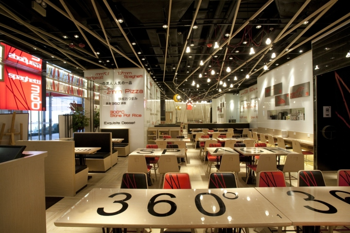 Architecture Design Workshop spaghetti 360° restaurantclifton leung design workshop, hong