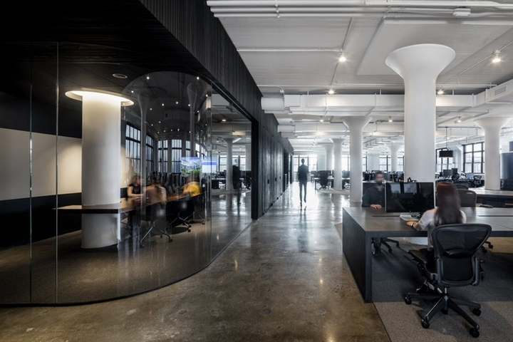 Squarespace office by a i new york city retail design blog for Interior design office new york