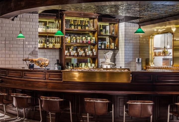 V Shine Oysters Bar By A A Workshop Design Beijing