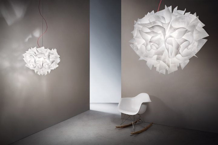Veli couture lighting by slamp