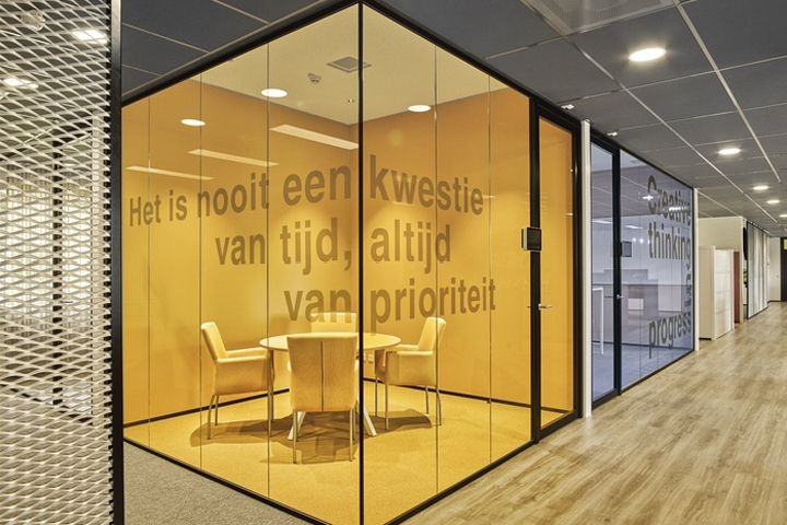 New purpose has designed the offices of business communications company zetacom located in zoetermeer netherlands zetacom a system integrator for the