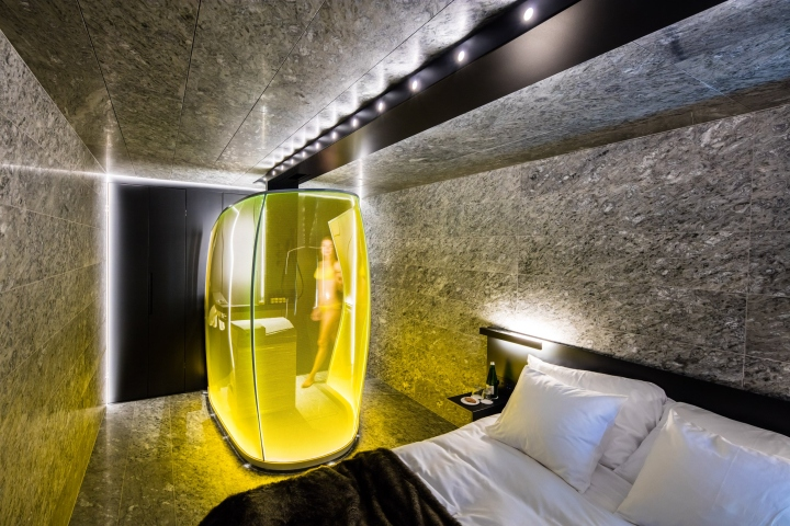 7132 hotel guest rooms by morphosis vals switzerland for Hotel design schweiz