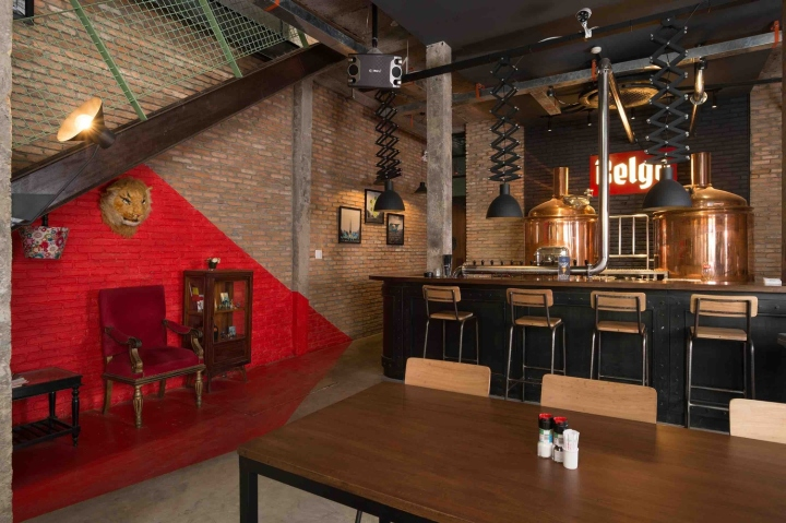BELGO Brewery Pub By T3 Architecture Asia Ho Chi Minh City
