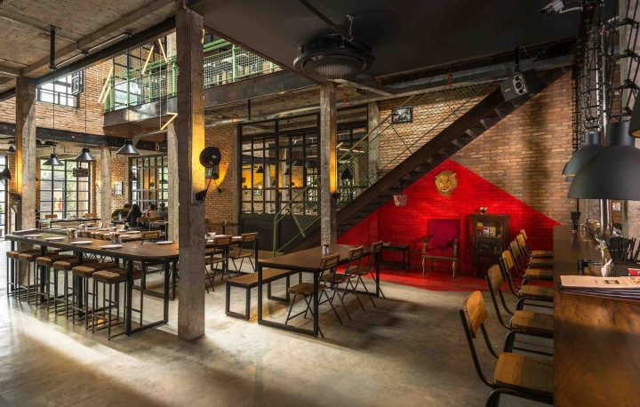 187 Belgo Brewery Pub By T3 Architecture Asia Ho Chi Minh City Vietnam