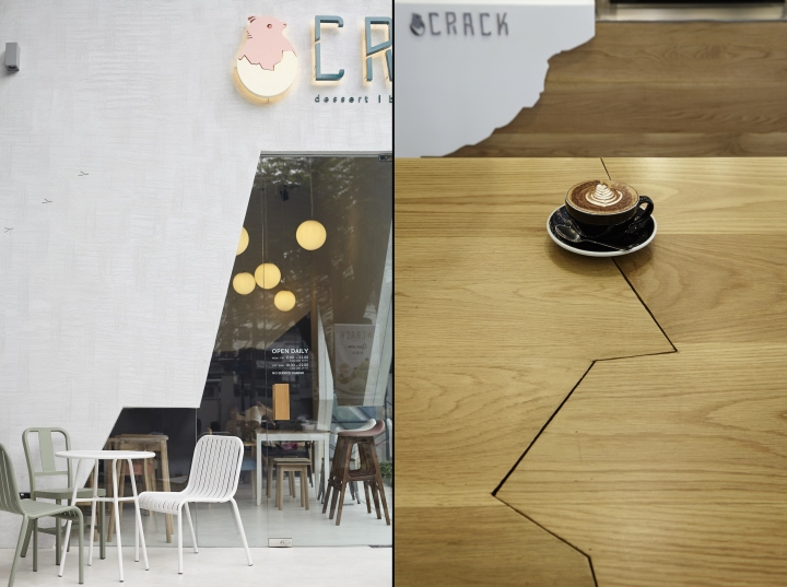 187 Crack Restaurant By Party Space Design Bangkok Thailand