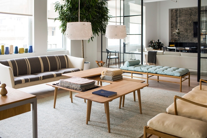 Danish Furniture Brand Carl Hansen U0026 Son Has Relocated Its Showroom In  Manhattan, Filling A Loft Style Space Near Gramercy Park With Its Modernist  ...