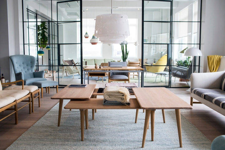 Carl Hansen Amp Son Showroom New York 187 Retail Design Blog