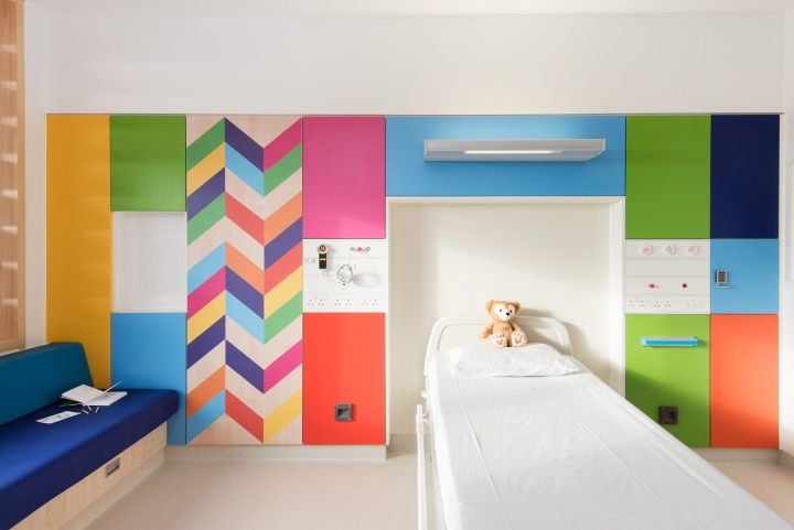 Dezeen 2017 02 05 Morag Myerscough Bright Colour Wards Sheffield Childrens Hospital Interiors Uk