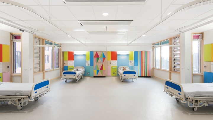 Children s hospital by morag myerscough sheffield uk for Room design ecclesfield