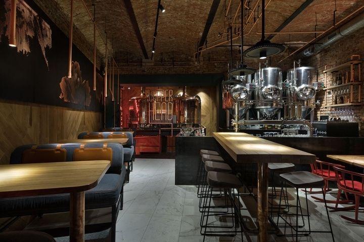 Cooper head bar by yod design ivano frankivsk ukraine for Arredamenti per birrerie