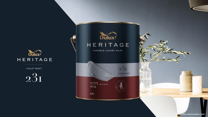 Dulux heritage packaging concept by thnadech kummontol for Interior design concept package