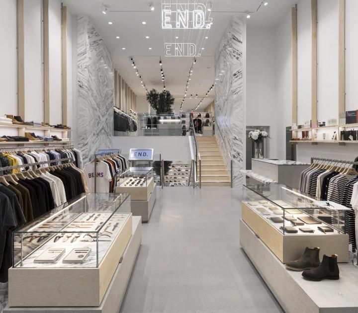 英国格拉斯哥END时尚店面设计
