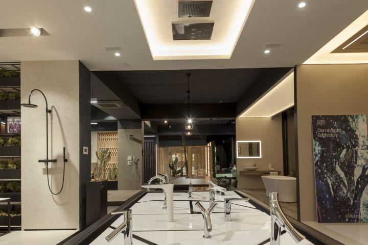 Elegant GDR premium showroom by Natalia Potiomkina Chisinau u Moldova Retail Design Blog