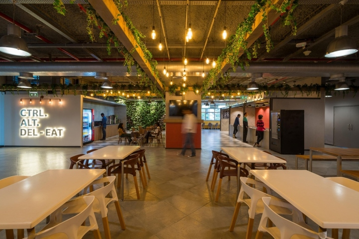 Ge digital offices by rc architecture bangalore india for Education design architects bangalore