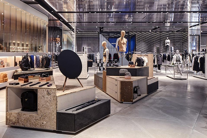 harvey nichols store by virgile partners birmingham uk retail design blog. Black Bedroom Furniture Sets. Home Design Ideas