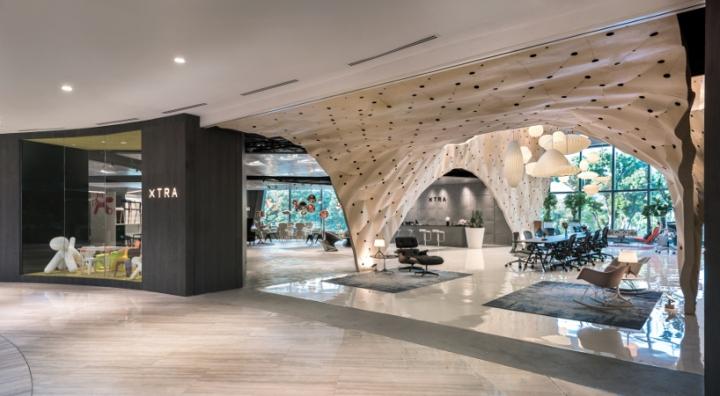 Herman miller shop in shop by produce singapore retail - Columpio interior ...