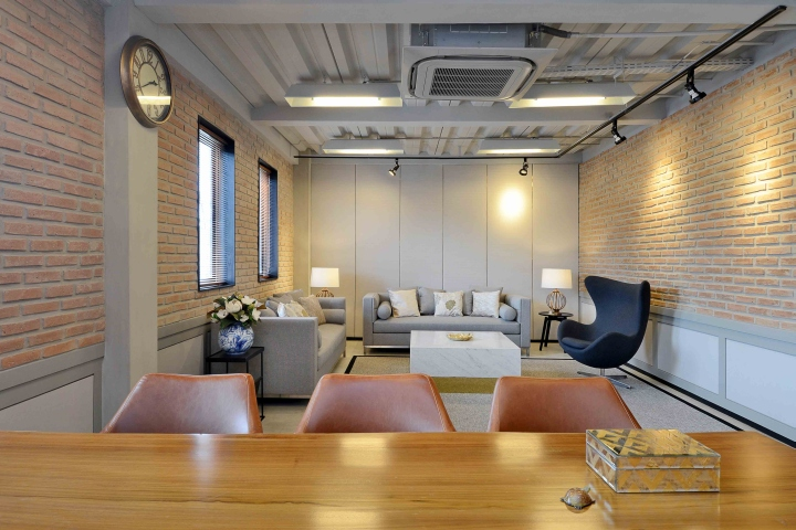 Homeco office show unit by metaphor interior for Interior design jakarta