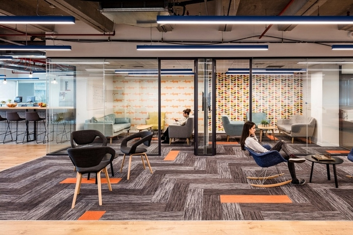 Selected Finishes Reflect A Light And Open Ambience To The Work Environment That Reinforces Similar Culture All Offices Incorporate Acoustic Privacy With
