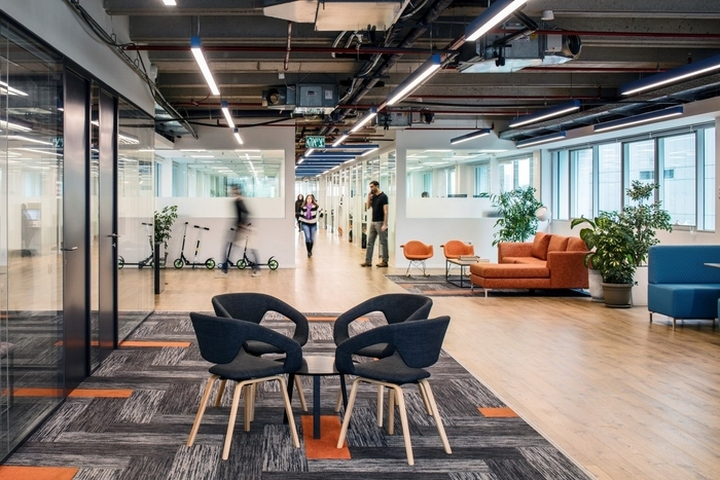 T R Studio Has Designed The New Offices Of Software Company Intango Located In Tel Aviv Israel Over Years Experienced Organic Growth At