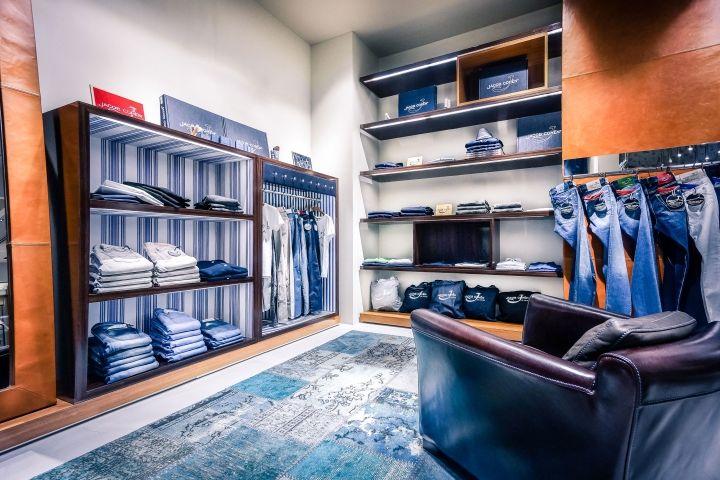 jacob cohen boutique by area 17 osaka japan retail. Black Bedroom Furniture Sets. Home Design Ideas