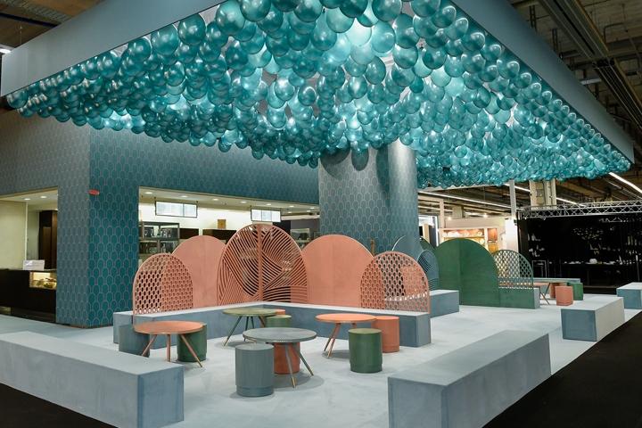 Jade Serenity Caf By Bethan Gray At Ambiente 2017 Frankfurt Germany Retail Design Blog