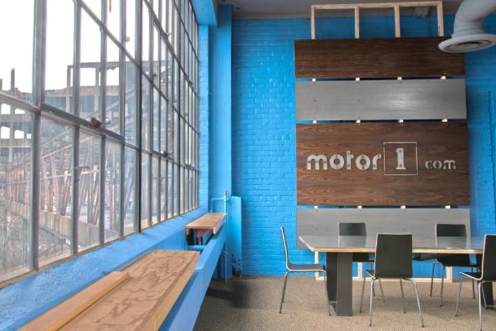 motor 1 detroit office by huron building company detroit michigan