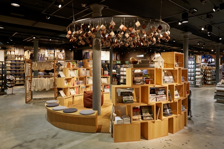 Muji Flagship Store Boston Massachusetts