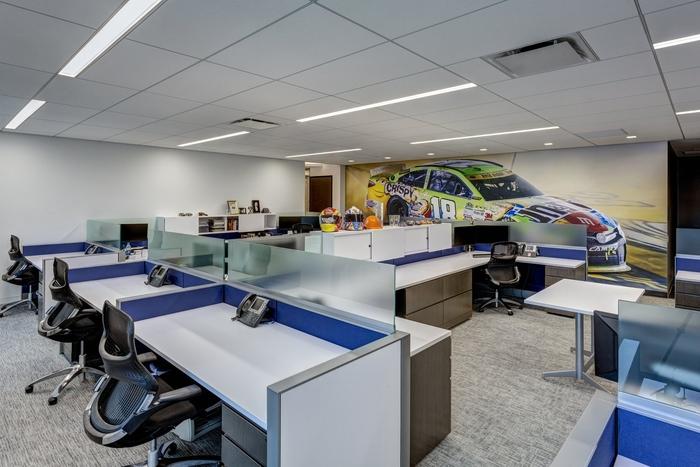 nascar office by ted moudis associates new york city