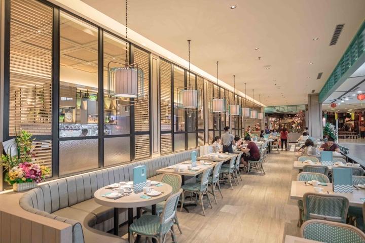 Putien restaurant at kelapa gading mall by metaphor for Interior design jakarta