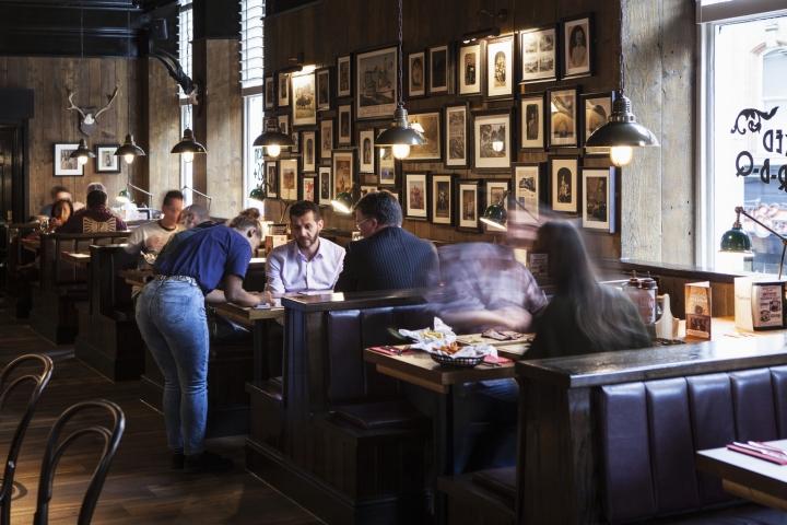 187 Red Dog Restaurant By Designlsm Nottingham Uk