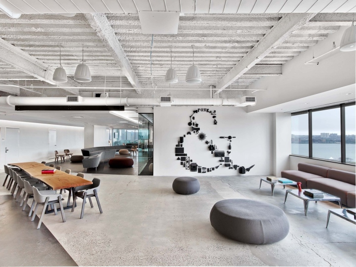 Saatchi saatchi office by m moser associates new york for Office interior design nyc