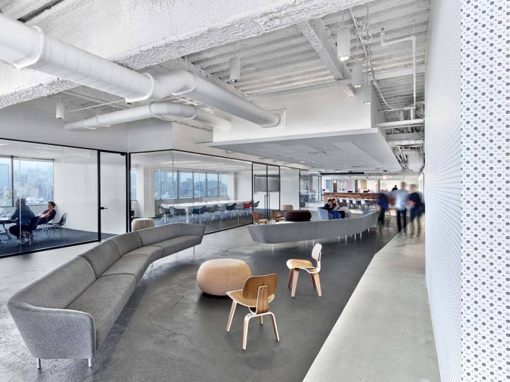 Saatchi saatchi office by m moser associates new york for Office design new york