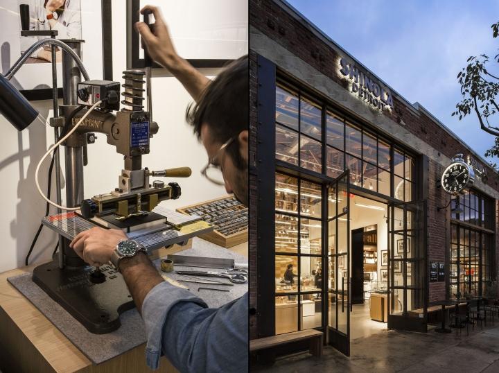 洛杉矶shinola皮具专卖店设计
