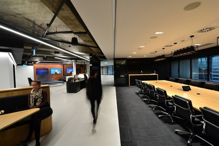 Wme img offiec by sheldon commercial interiors sydney for Interior design agency sydney