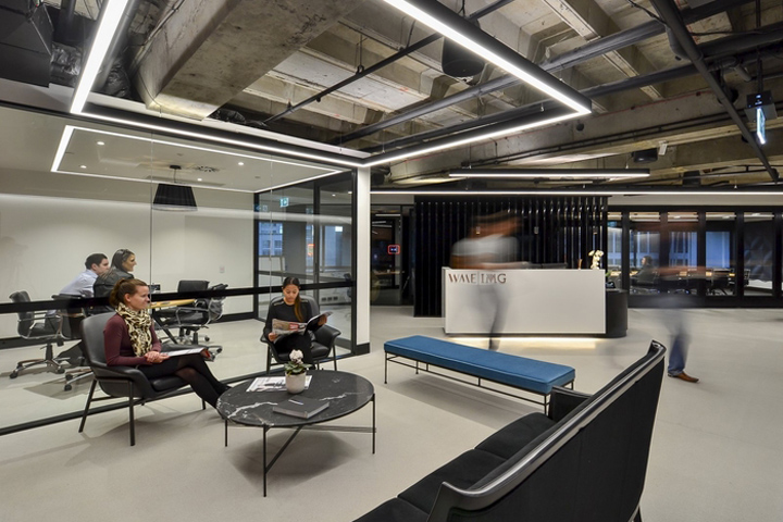 » WME | IMG office by Sheldon Commercial Interiors, Sydney – Australia