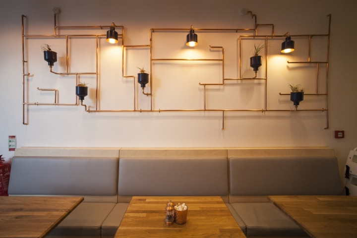 Restaurant Kitchen Wall Finishes wolfies kitchenliqui design, brighton and hove – uk » retail