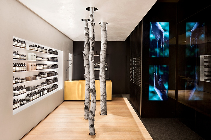 Canadian Firm Alain Carle Architecte Has Taken A Narrative Approach In Their Take Of The Retail Interiors Belonging To Aesop Westmount Montral Where