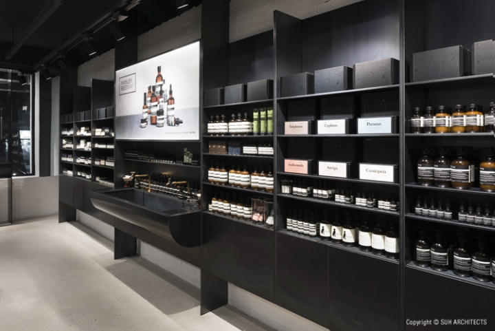 187 Aesop Store By Suh Architects Seoul South Korea