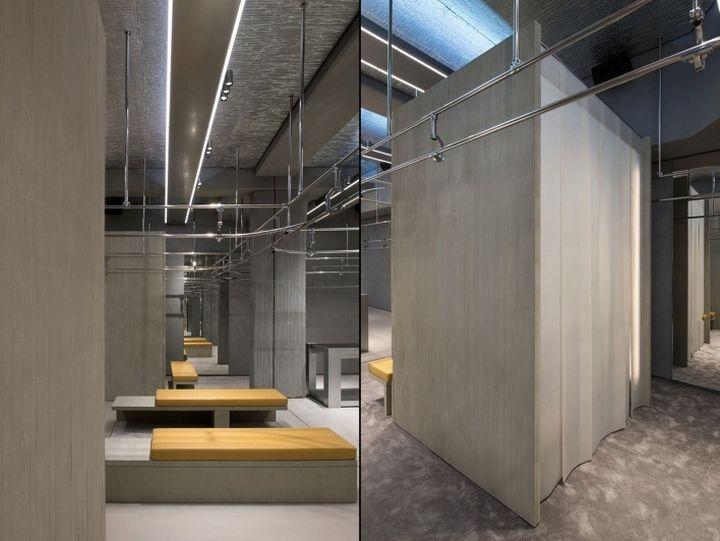 Balenciaga store by gonzalez haase paris france for Balenciaga new york store