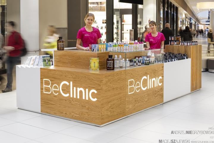 波兰beclinic商场中岛形象设计
