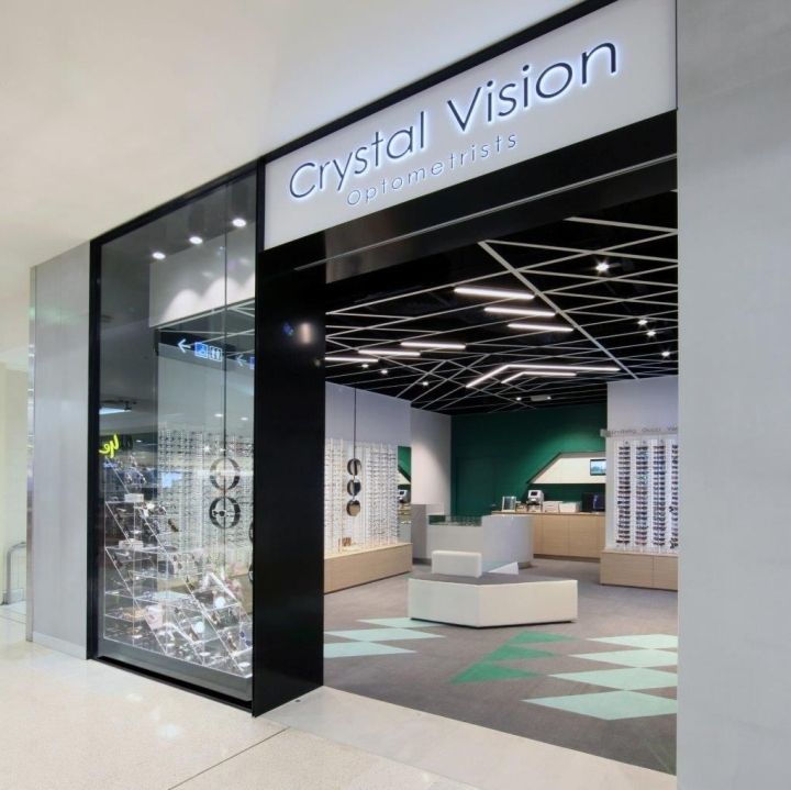 » Crystal Vision Store By Masterplanners Interiors, Perth