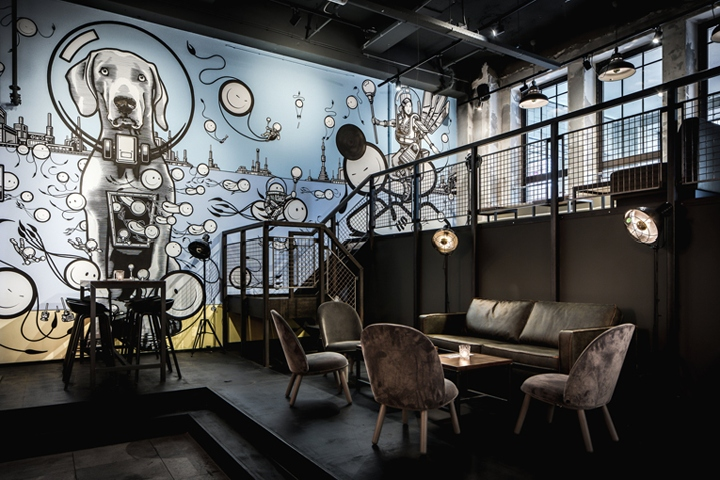 De Bajes restaurant, Amsterdam – Netherlands » Retail Design Blog