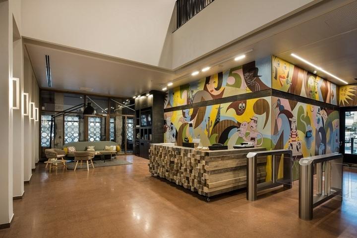 Fiverr office by setter architects tel aviv israel retail design blog for Idee decoration bureau professionnel