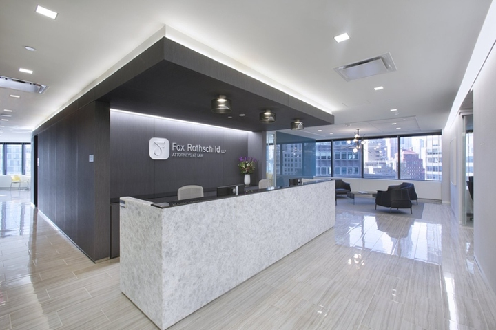 Francis Cauffman Has Designed The New Offices Of Law Firm Fox Rothschild Located In York City When Relocating Its Office
